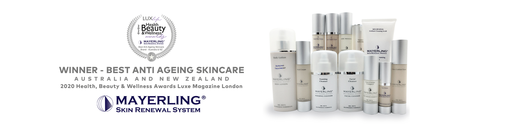 Find a Stockist image by Mayerling Skincare